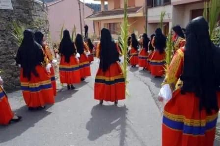 Sas Prammas a Desulo - Settimana Santa in Sardegna
