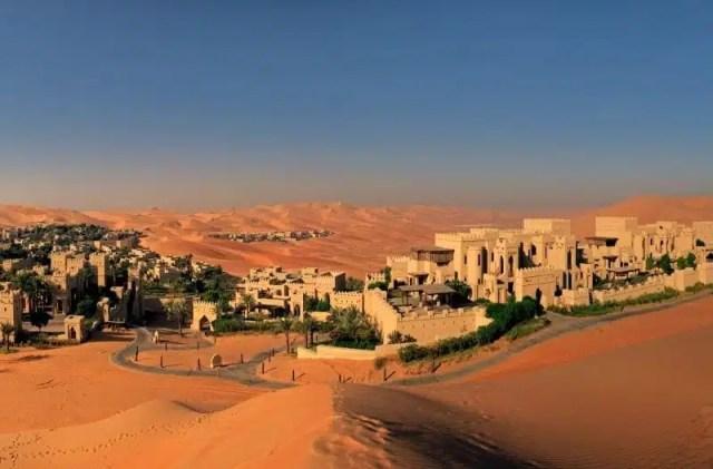 Anantara Qasr al Sarab Desert Resort - Abu Dhabi,EAU (foto di ewtc.com)