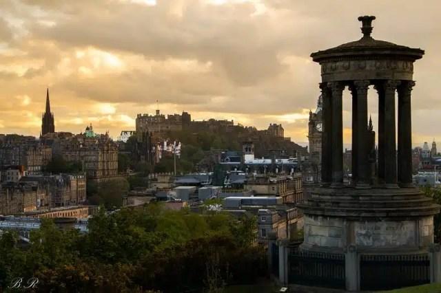 Vista da Calton Hill - Edimburgo, Scozia