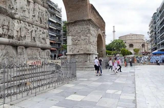 Arco di Galerio e Rotonda - Salonicco, Grecia