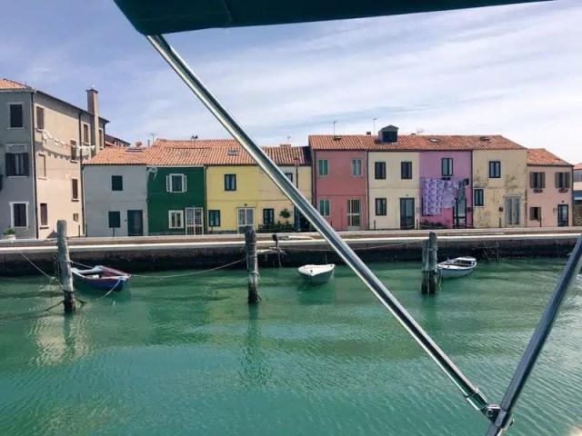 Laguna di Venezia in barca