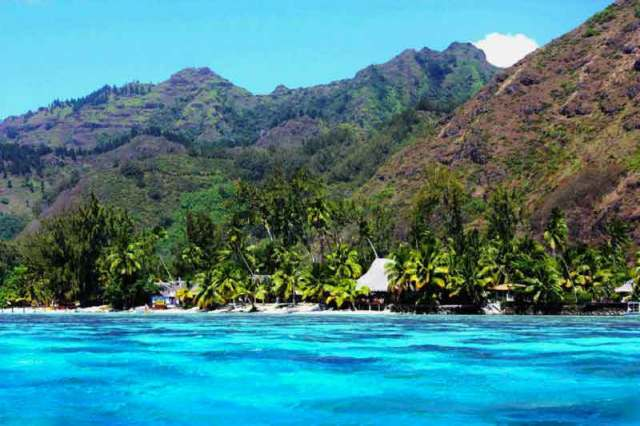 Moorea, Polinesia Francese - Lagoon Hauru