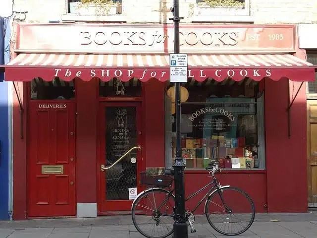 Books for Cooks - Notting Hill, Londra, UK