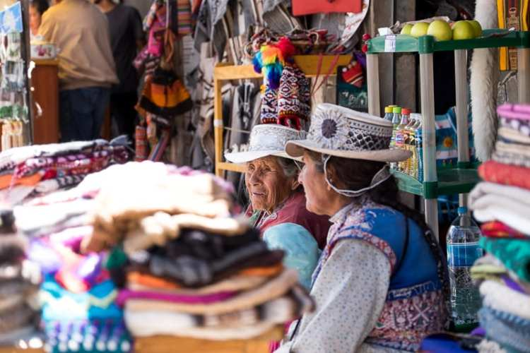 donne peruviane
