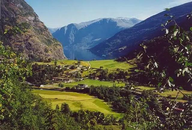 Flam, Norvegia - Fiordo di Aurland