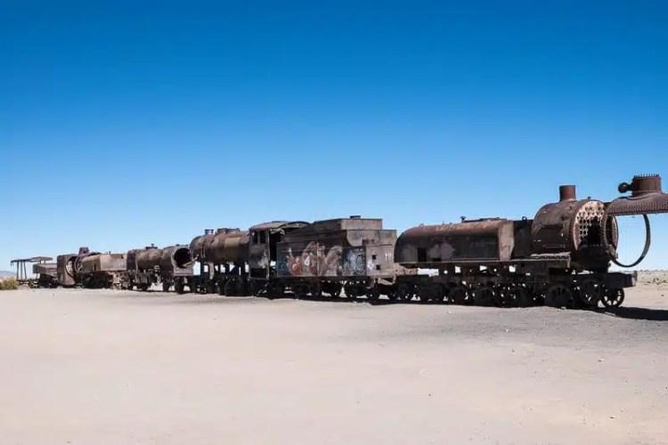 Cimitero dei treni Bolivia