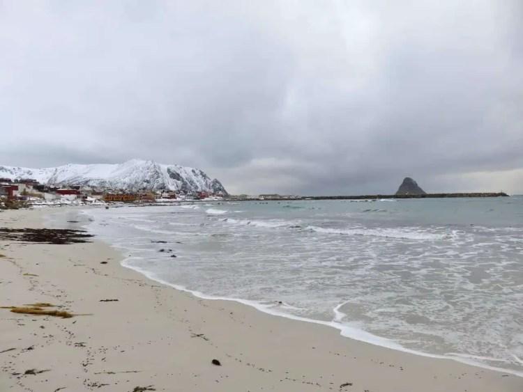 Bleik Beach, Andøya, Nordland, Norvegia, Norvegia del nord