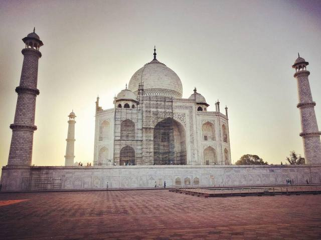 """7MML """"Ritorno al Centro"""" - Taj Mahal, India"""