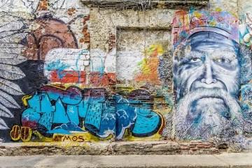 Festival street art