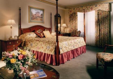 Una camera del Lenox Hotel