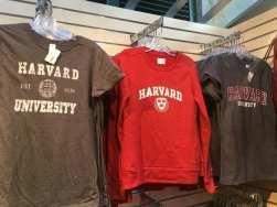 Merchandising ad Harvard