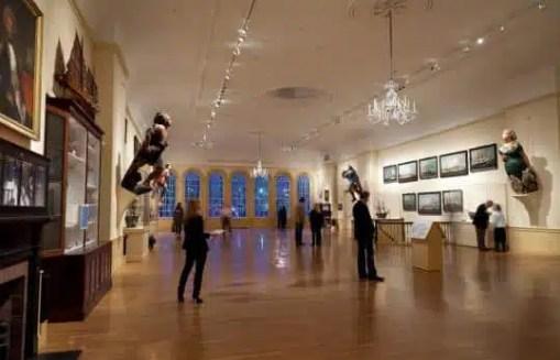 L'atrio principale del Peabody Essex Museum