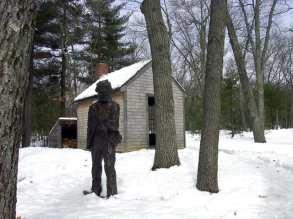 La ricostruzione della casa di Thoreau