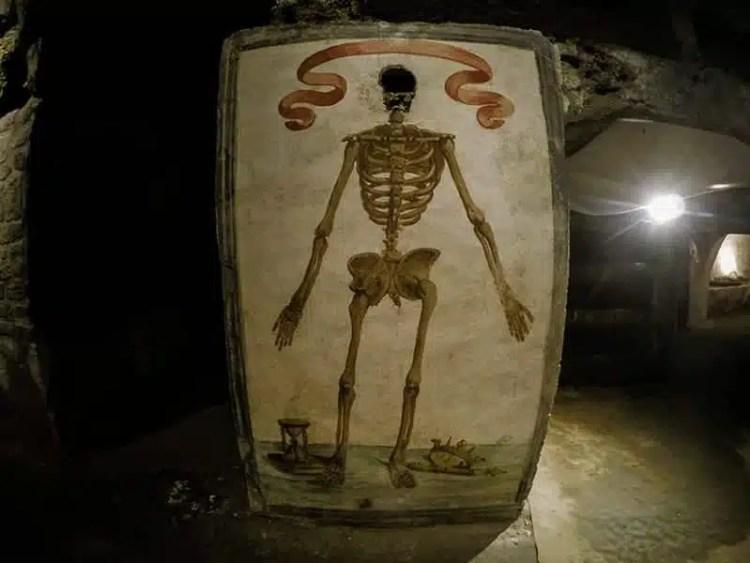 Catacombe di San Gaudioso: parte barocca