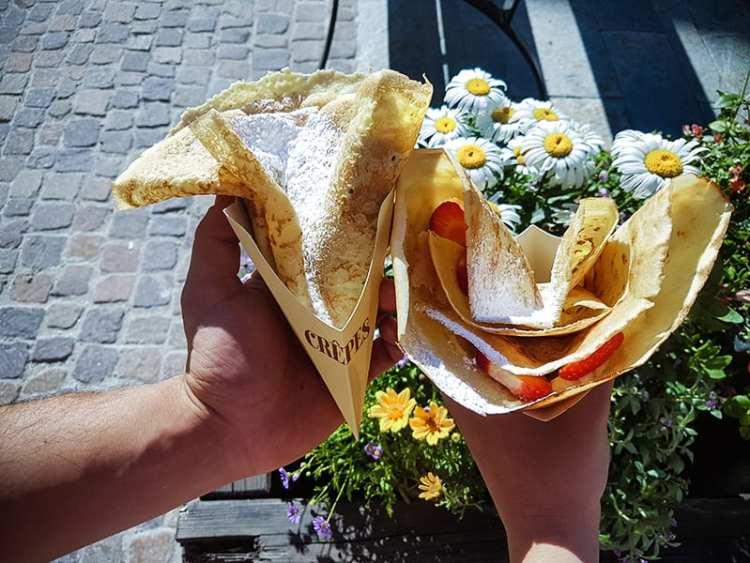 """Crêpes della Pasticceria """"Pasta fresca"""""""