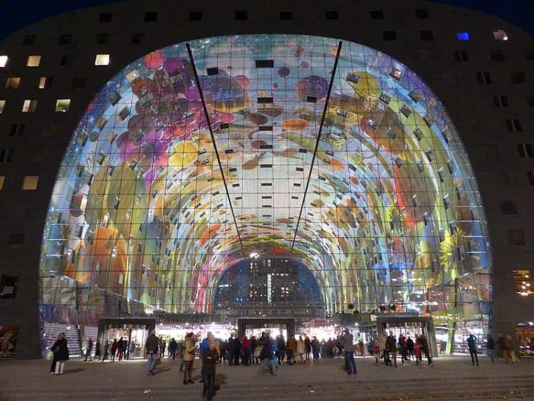 5 palazzi più instagrammabili d'Europa-market-hall-rotterdam