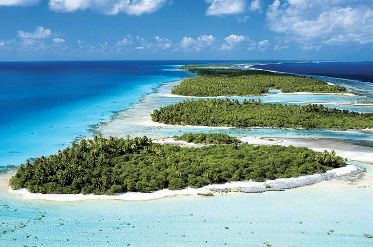 l'isola di Rangiroa