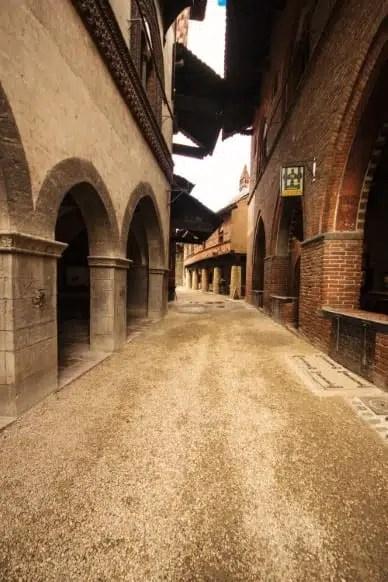 Borgo Medioevale interno