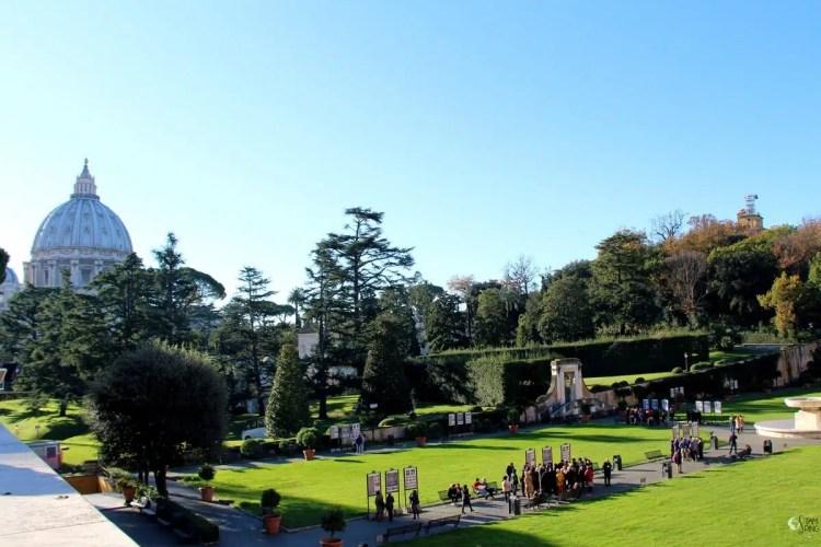 Giardino quadrato - Musei Vaticani