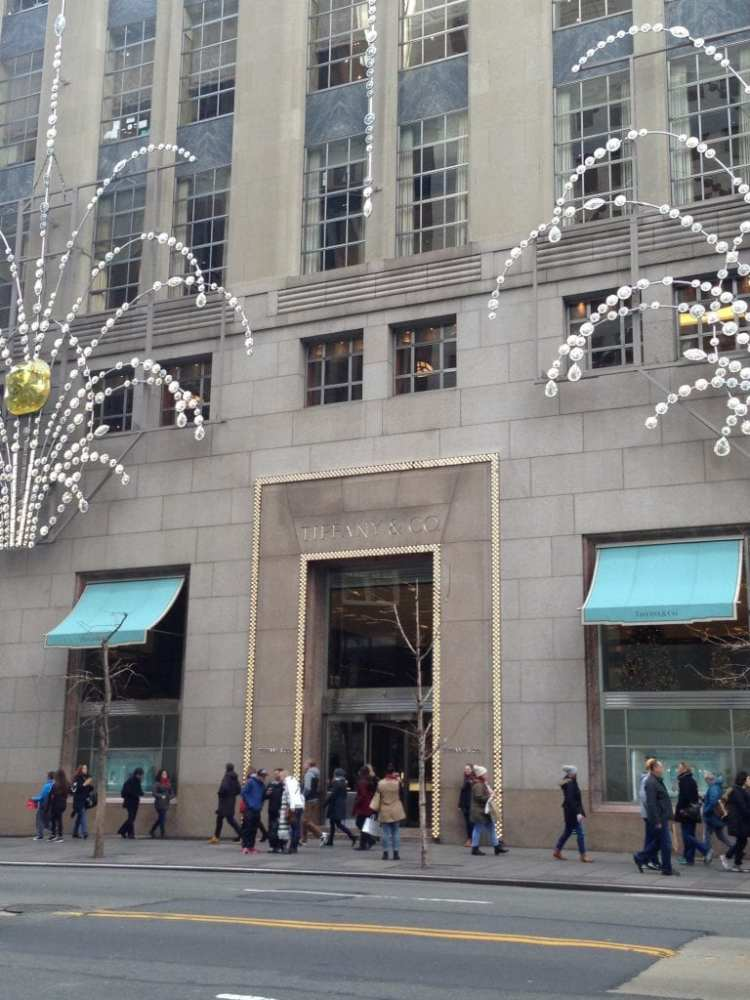 negozio Tiffany & Co a New york