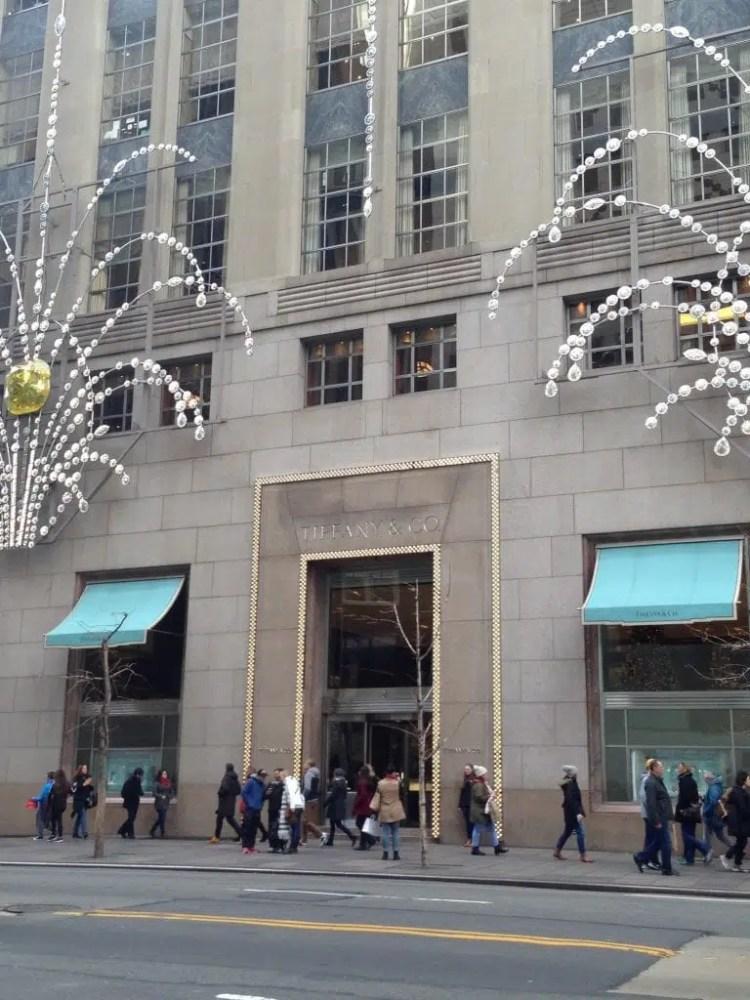 negozio Tiffany & Co a New york