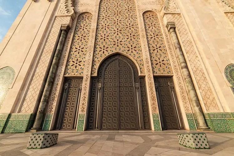 Portale di accesso della moschea
