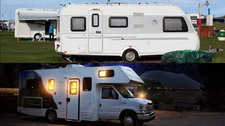 camper o caravan
