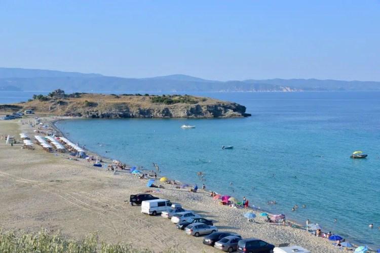 pyrgos beach