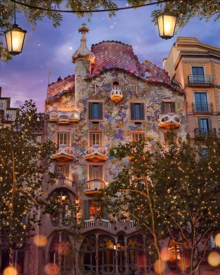 Casa Batlló a Barcellona