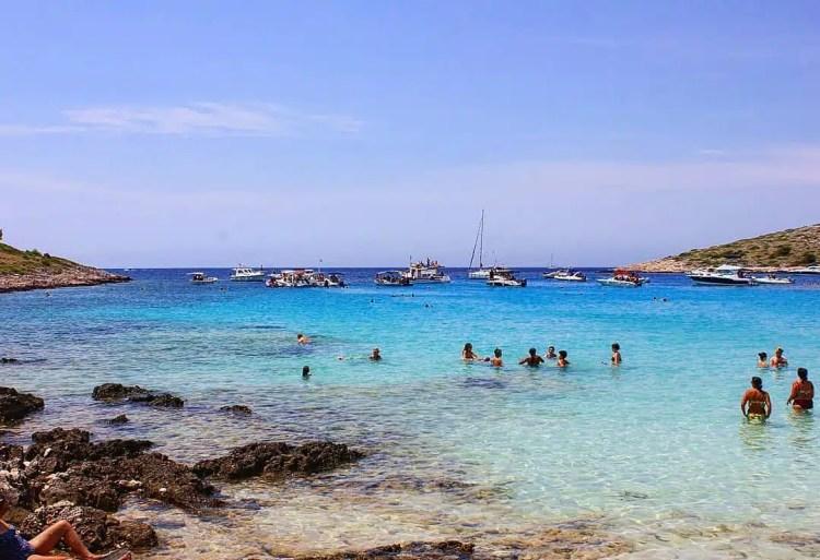 Isole Incoronate croazia