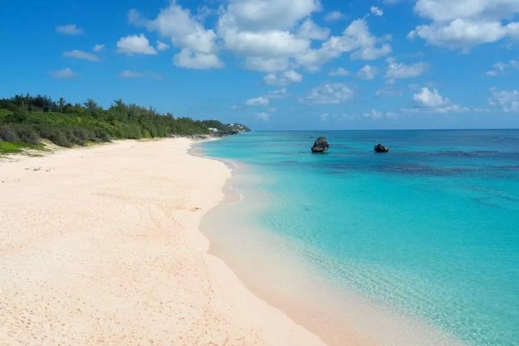 le spiagge a bermuda