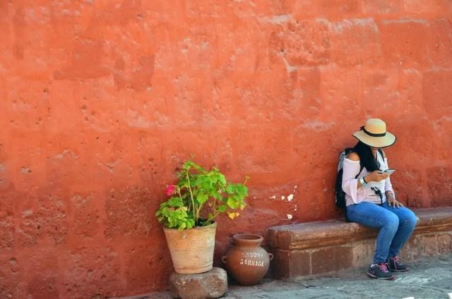 ragazza a Arequipa