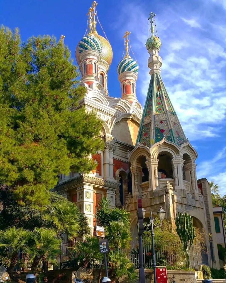 chiesa russa san remo