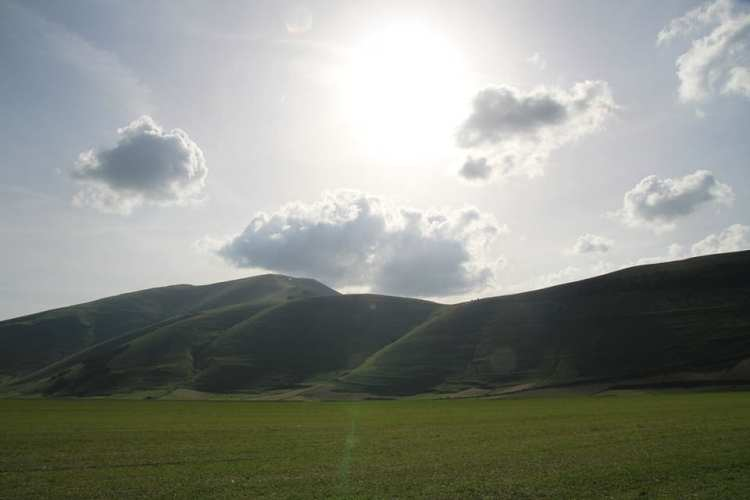 Panorama dai monti Sibillini