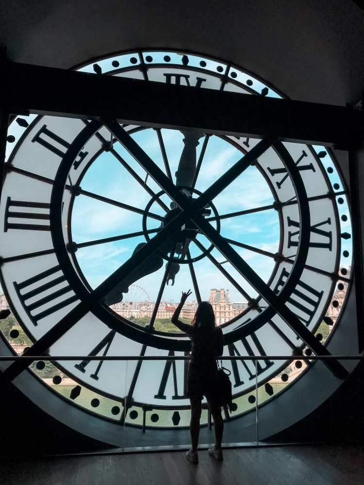 Musée d'Orsay terrazza su parigi