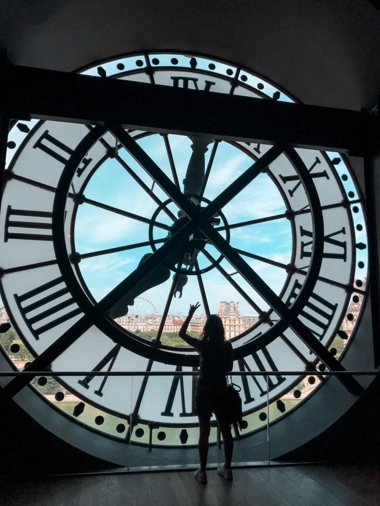 Terrasse du musée d'Orsay à Paris