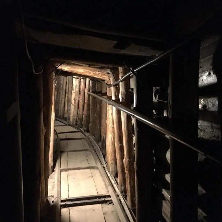 700 metri di tunnel