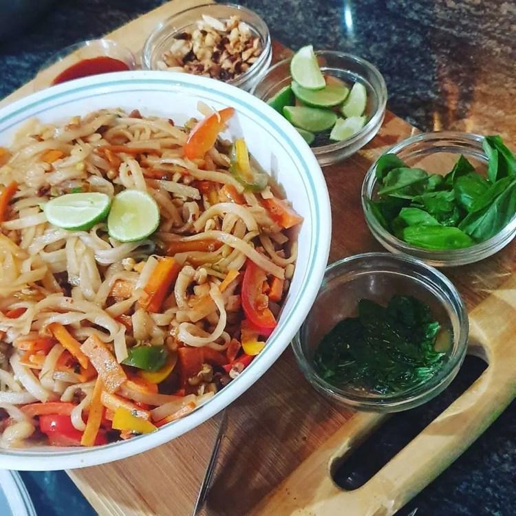 Pad Thai un piatto