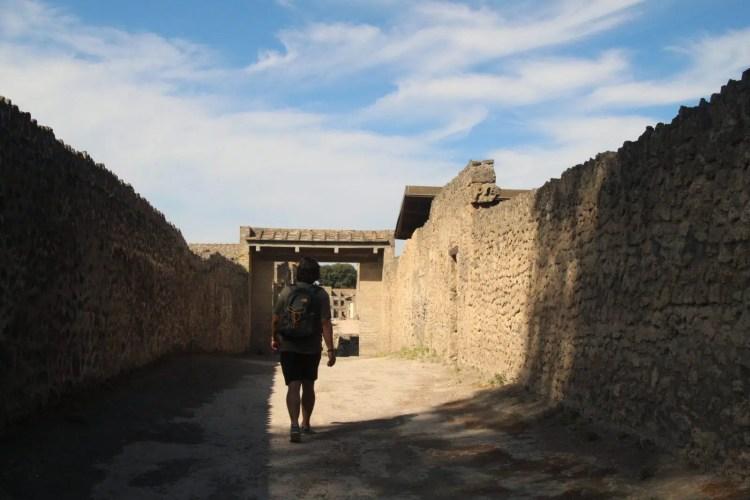 Sulle orme della storia tra i vicoli di Pompei