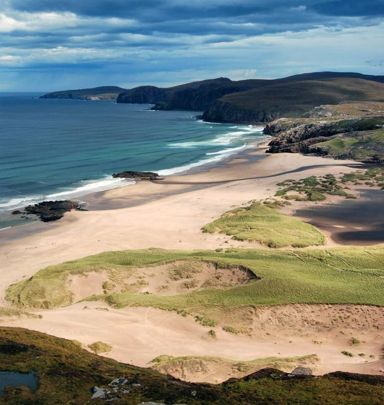il promontorio di Cape Wrath in Scozia
