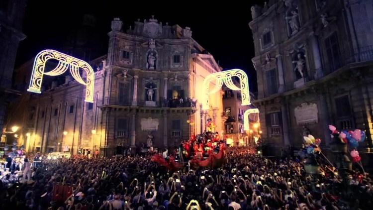 Santa Rosalia processione palermo