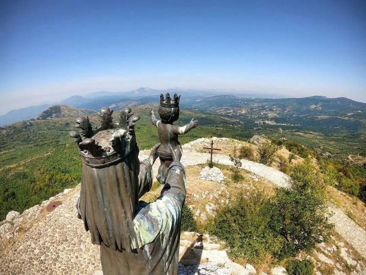 Santuario della Madonna del Pollino panorama