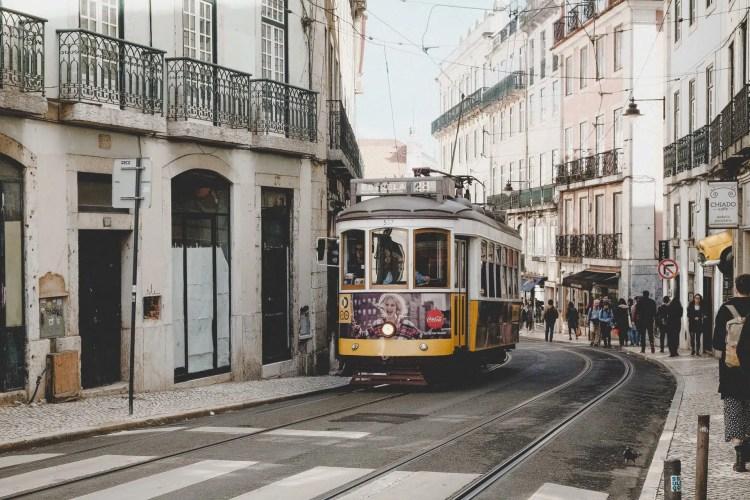Lisbona il tram