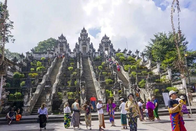 La porta del paradiso tempio bali