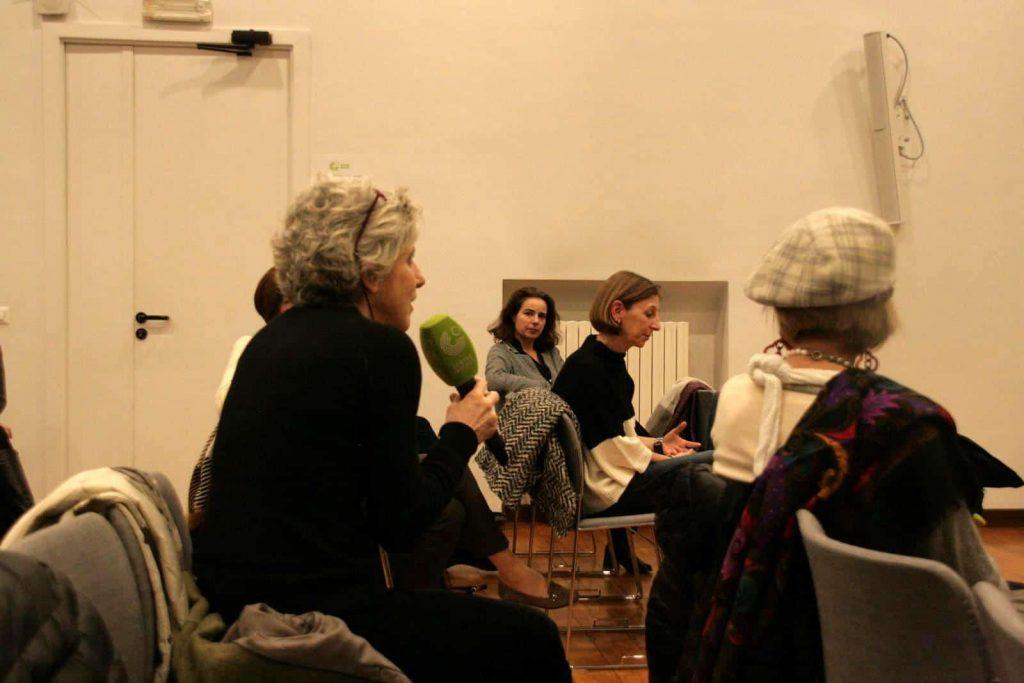 Das Publikum stellt Fragen