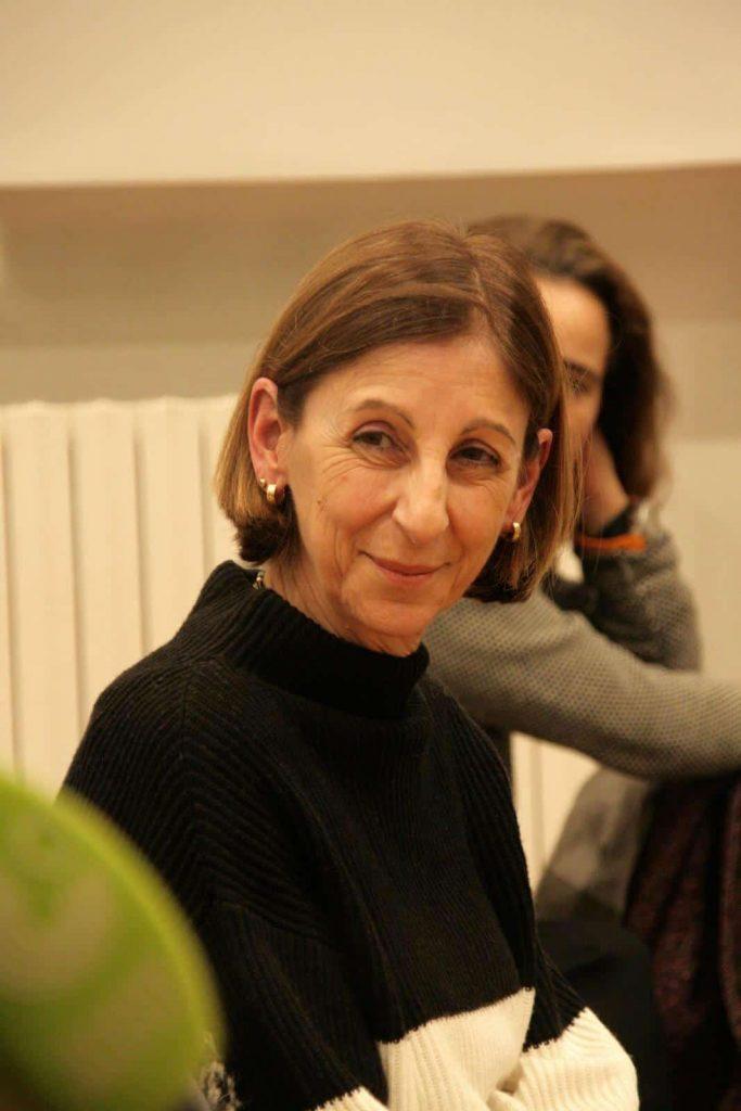Die Verlegerin Alessandra Ballesi-Hansen