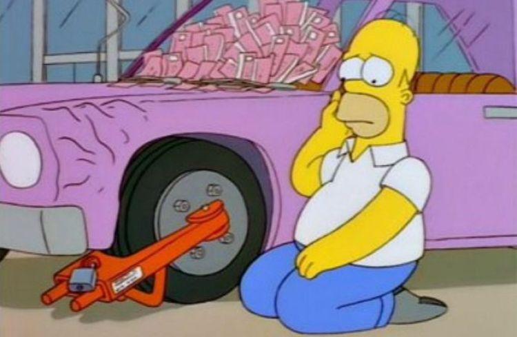 The City of New York vs Homer Simpson La Città di New York contro Homer I Simpson