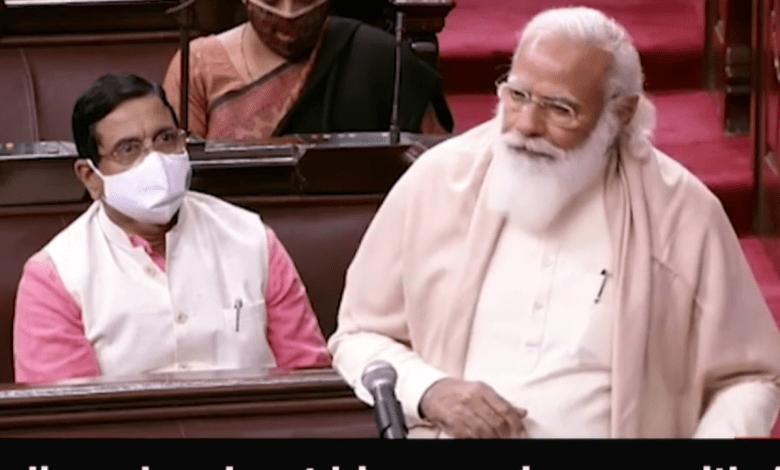 PM Modi emotional over Ghulam Nabi Azad's departure, praised fiercely in Rajya Sabha