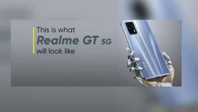 Realme GT 5G: First look of Realme GT 5G comes to the fore, premium design with 64MP main camera