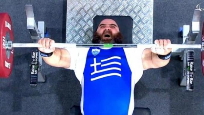 Τρίτο χρυσό για την ελληνική παραολυμπιακή ομάδα στο Ρίο με τον